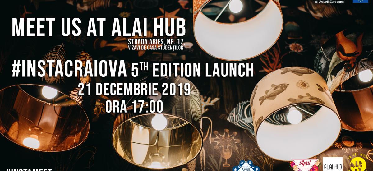 Meet us at Alai Hub – InstaCraiova 5th Edition Launch